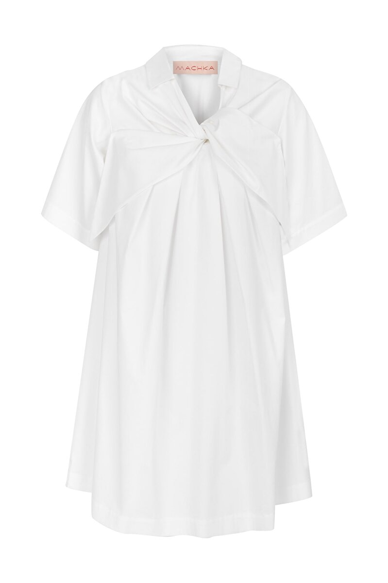 GIANT LACE-UP FORM HALF SLEEVE SHIRT