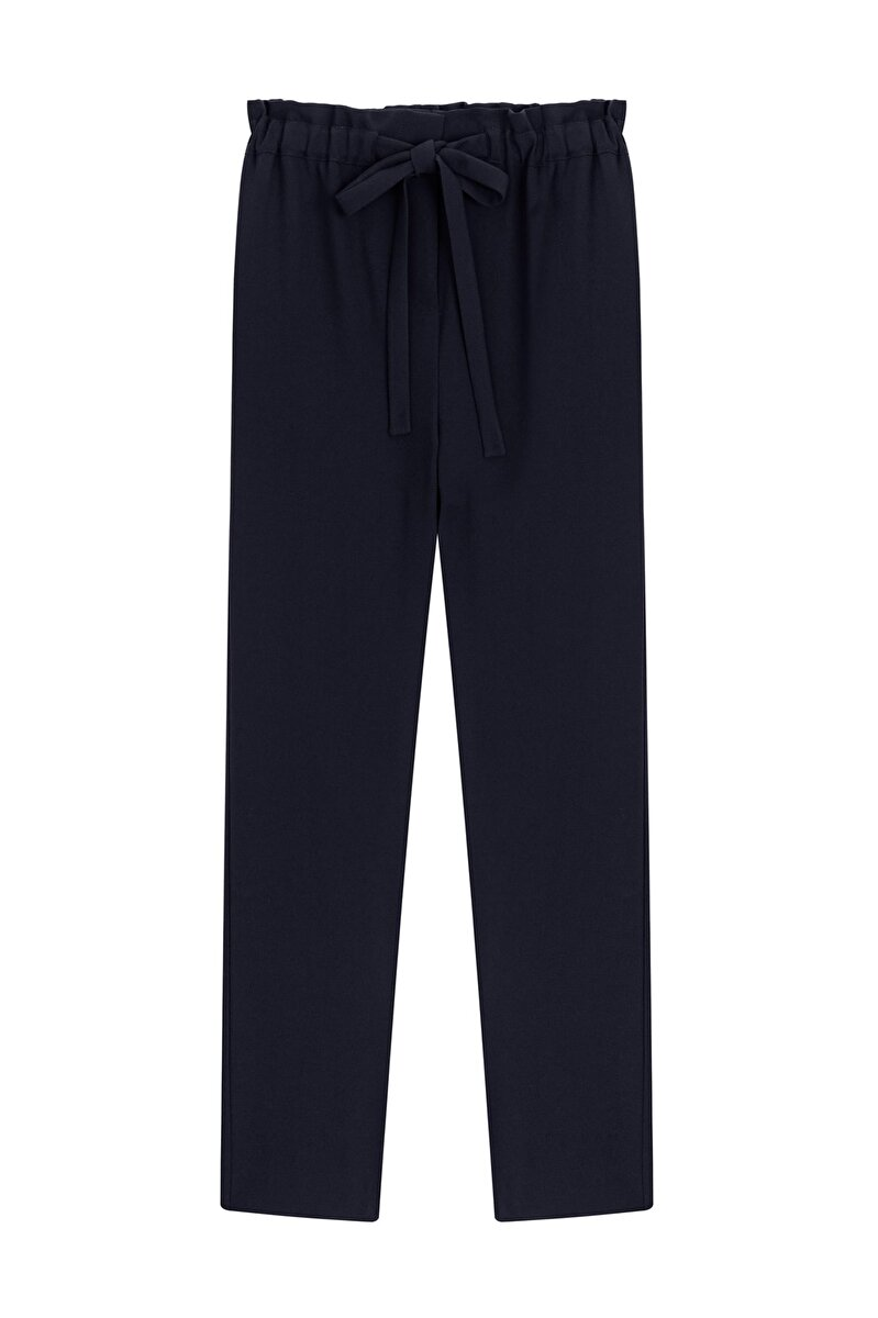 RELAX FIT PANTS WITH ELASTIC WAIST
