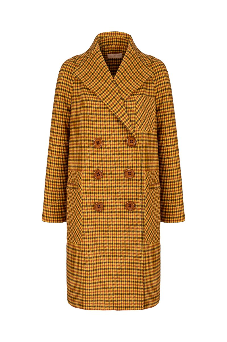 ICONIC PLAID COAT